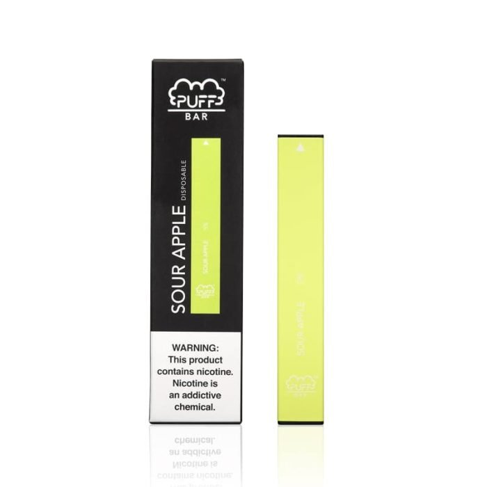Puff BAR Disposable Pod Device - 1.3mL Sour Apple