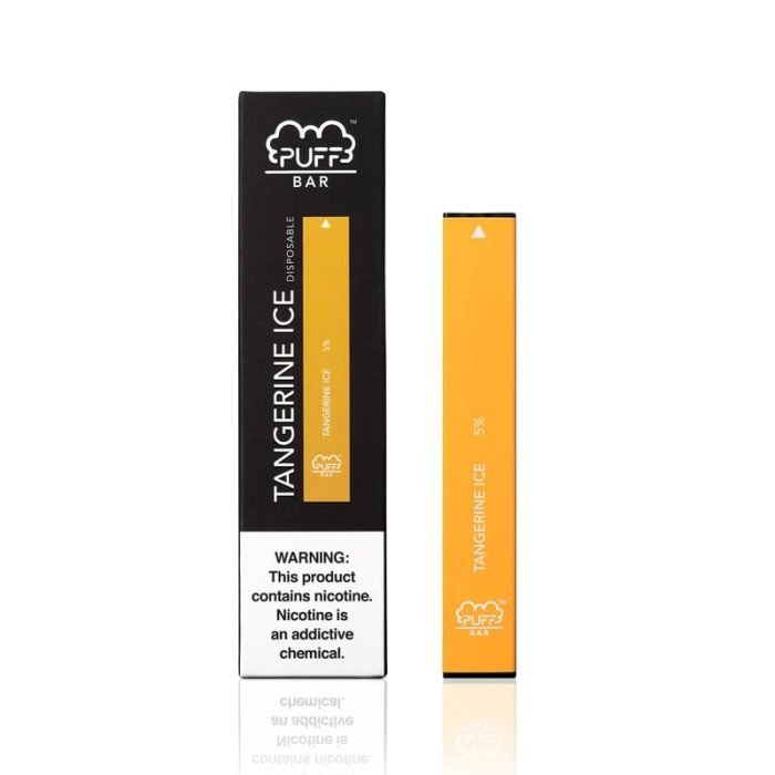 Puff BAR Disposable Pod Device - 1.3mL Tangerine Ice