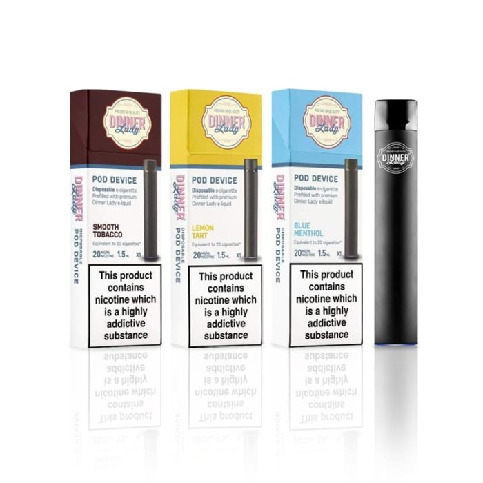 Dinner Lady Disposable Vape Device - 1.5mL