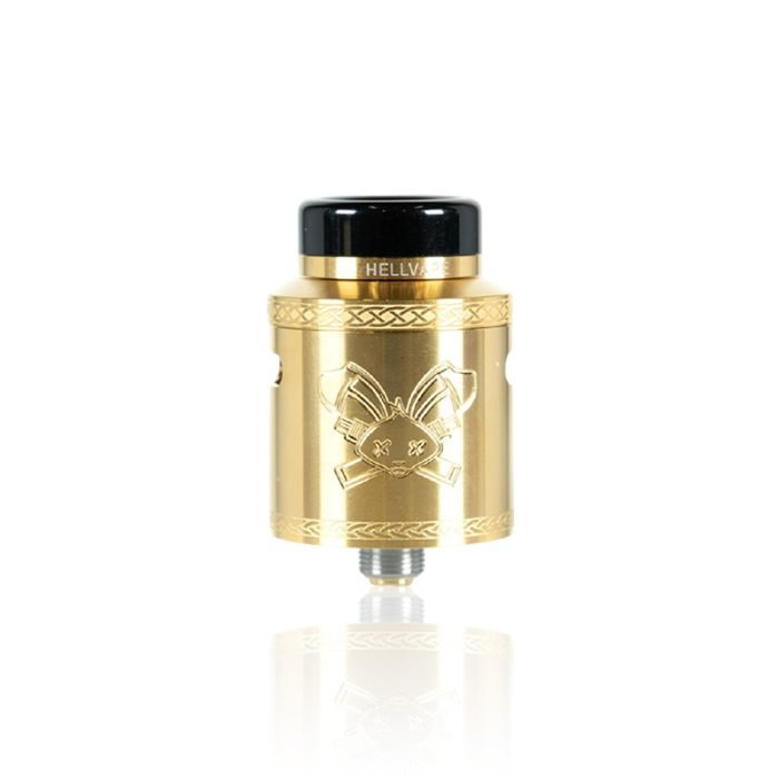 Hellvape DEAD RABBIT V2 24mm RDA Gold